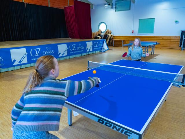 Tennis de table à Oz-en-Oisans